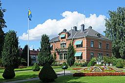Gröna Kullen. Kommunhuset i Katrineholm